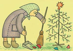 виртуальная открытка старый новый год