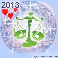Гороскоп на 2013 год Весы