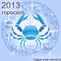 Гороскоп на 2013 год Рак