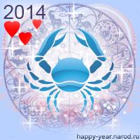Гороскоп на 2014 год Рак