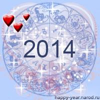Любовный гороскоп на 2014 год