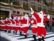 Парад Санта Клаусов