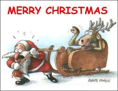 весёлые рождественские картинки