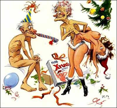 поздравительные рождественские рисунки